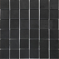 Mosaïque anthracite 30,4x30,3cm Slate