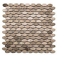 Mosaïque beige 30 x 29,7 cm Cuma