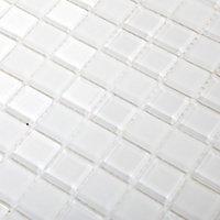 Mosaïque blanc 30x30cm Glina