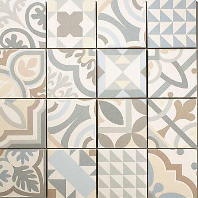 Mosaique Carreaux De Ciment Gris 30 X 30 Cm Castorama