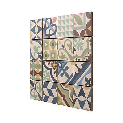 Mosaique Carreaux De Ciment Multico 30 X 30 Cm Castorama