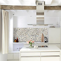 Mosaïque carreaux de ciment multico 30 x 30 cm