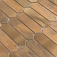 Mosaïque cuivre 28,2x33cm Enaide