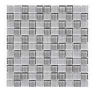 Mosaïque gris 30x30cm Glina