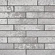Mosaïque mur blanc effet pierre 30 x 48,6 cm Lappato