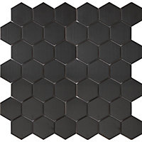 Mosaïque noir 30x30cm Albena