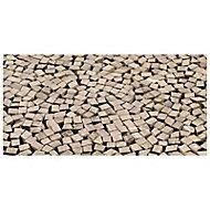 Mosaïque noire effet pierre 30 x 30 cm