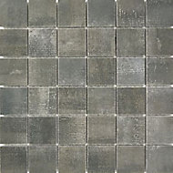 Mosaïque sol et mur anthracite 30 x 30 cm Made