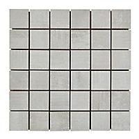 Mosaïque sol et mur blanc 30 x 30 cm Dourtio (lot de 5)