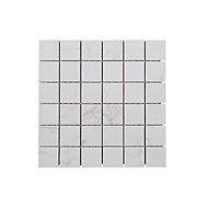 Mosaïque sol et mur blanc 30 x 30 cm Elegance Marble