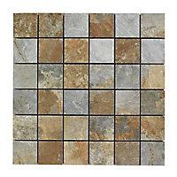 Mosaique sol et mur 29,80 x 29,80 cm Imitation ardoise