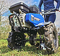 Motoculteur thermique Hyundai 196cc 100cm