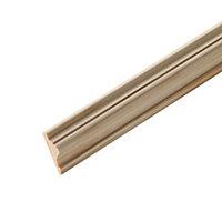 Moulure décorative pin 15 x 45 mm L.2,4 m