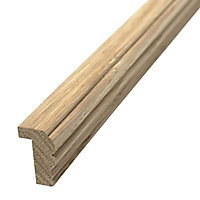 Moulure plan de travail style chêne 24 x 40 mm L.2,4 m