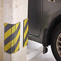 Mousse de protection carrosserie coupée en lamelle Mottez Jaune&Noir