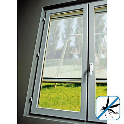 Moustiquaire De Fenetre En Pvc Blanc 125 X H 150 Cm Castorama