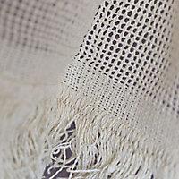 Moustiquaire de porte coton écru 140 x 188 cm