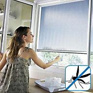Moustiquaire de porte en alu blanc Protek 150 x h.220 cm