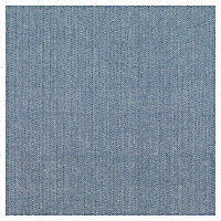 Nappe pompon Blooma Rural 140 x 190 cm bleu