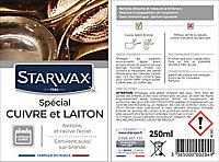 Nettoyant cuivre, laiton et bronze Starwax 250ml