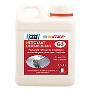 Nettoyant désembouant Geb G3 des circuits de chauffage bidon 1 litre