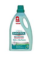 Nettoyant désinfectant sols et surfaces eucalyptus Sanytol 5L