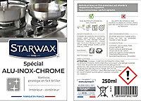 Nettoyant métaux spécial alu, inox et chrome Starwax 250ml