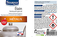Nettoyant métaux spécial étain Starwax 250ml
