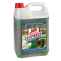 Nettoyant multi-usages express antibactérien Forêt des landes Jex professionnel 5L