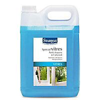 Nettoyant spécial vitres anti-traces à l'alcool Starwax 5L