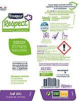 Nettoyant WC Starwax Respect Fleur de coton 750ml
