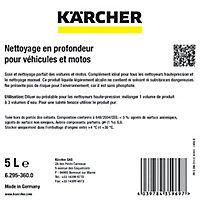 Nettoyeur haute-pression K2 FullControlHome&Shampooing auto 5L