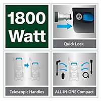 Nettoyeur haute pression Mac Allister MPWP1800-3 1800 W