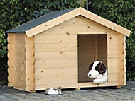 Niche pour chien bois Milou 150 x 90 cm