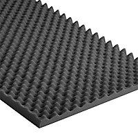 Noma Acoustic noir 4 x 0,50 x 0,50m