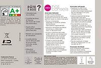Pâte à bois Blanc Colours 500g