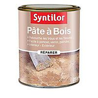 Pâte à bois Chêne foncé 250g Syntilor