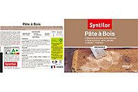 Pâte à bois SYNTILOR gris 500 g