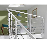Pack balustrade Inoline white latéral