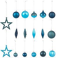 Pack décoration bleu (40 pièces)
