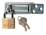Pack moraillon + cadenas Masterlock