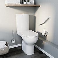 Pack WC à poser sur élevé sans bride avec sortie horizontale GoodHome Cavally