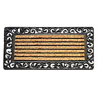 Paillasson caoutchouc grille 45 x 75 cm