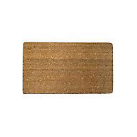 Paillasson coco écru 33 x 55 cm