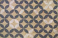 Paillasson intérieur brosse coco Rosaces 40 x 60 cm