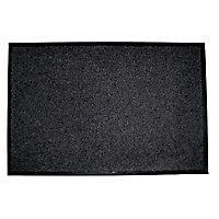 Paillasson intérieur gris 90 x 130 cm Prisma