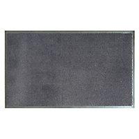 Paillasson intérieur noir 45 x 75 cm Nuancia