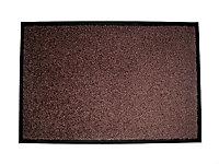 Paillasson intérieur Tonic chocolat 40 x 60 cm