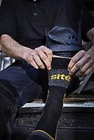 Paire de chaussettes de travail Site noires taille 41-45, 3 pièces