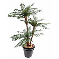 Palmier artificiel 3 troncs h.170 cm